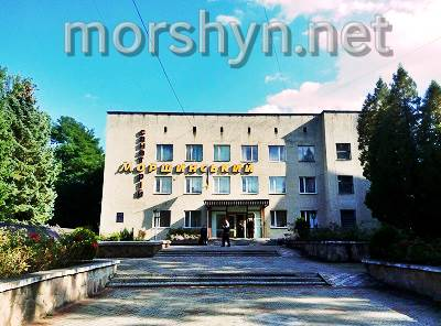 Morshynska ,the main building